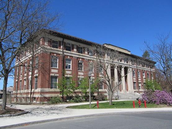 麻省大学阿姆赫斯特分校全景图片