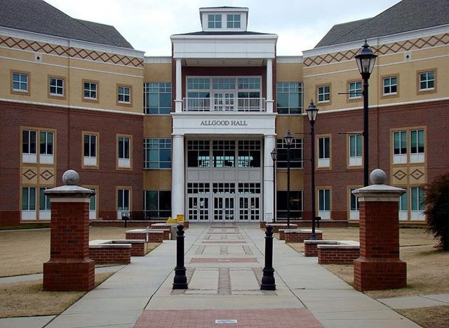 奥古斯塔大学全景图片