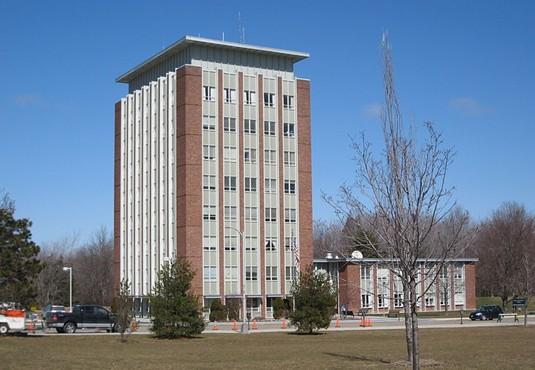 纽约州立大学宾汉顿分校全景图片