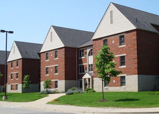 东密歇根大学全景图片